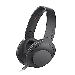 Sony MDR-100AAP Over-Head Headphones (Black)