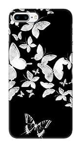 Pinklips Shopping Hard Case Back Cover - Printed Designer Black Cover For Apple Iphone 7 Plus / Iphone 7+ - Ap7Pplblkamz12