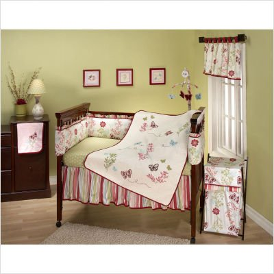 Bundle-03 Alexis Garden Crib Bedding Set