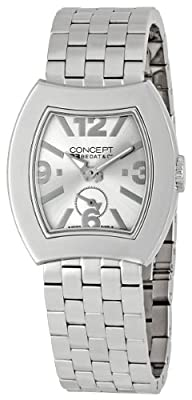 Bedat Women's BDTCB03.SSB.SIL B3 Concept Number Three Silver Dial Watch