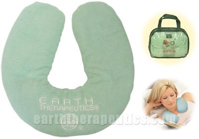 Review Earth Therapeutics: Relaxing Microwavable Neck Pillow