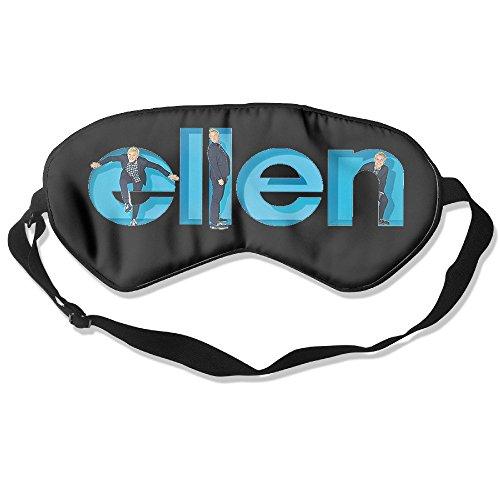 Banghot-Womens-Or-Mens-Unisex-Creative-Ellen-Degeneres-Show-Logo-Sleep-masks
