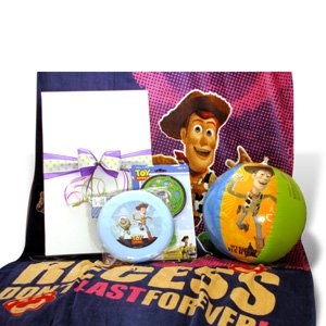 Toy Story Summer Fun Gift Set Ideal for Birthday and Get well Gift Baskets