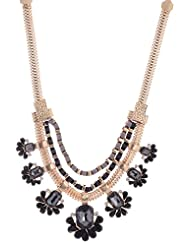 Amaira Jewels Gold Plated Multi-Strand Necklace For Women - B0133G8V7G