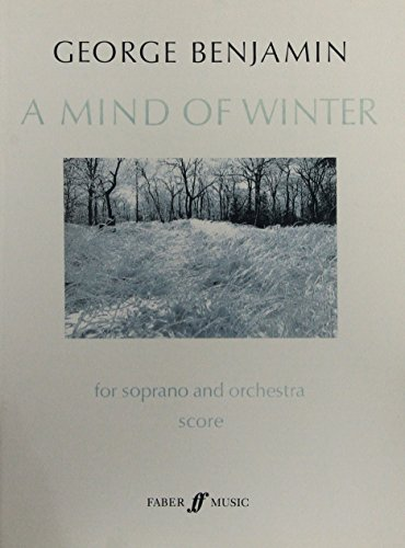A Mind of Winter: (Score) (Faber Edition)