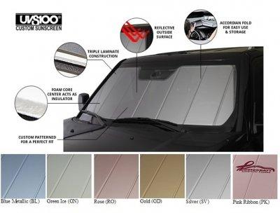 Covercraft UVS100 - Series Custom Fit Windshield Shade for Select Mazda CX-5 Models - Triple Laminate Construction (Blue Metallic) (Mazda 5 Sun Shade compare prices)