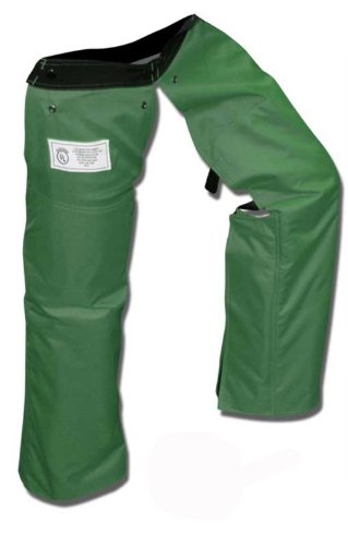 Forester Protective Trimmer Safety Chaps, Forest Green, Small