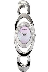 Seksy Wristwear by Sekonda Ladies 4281.39 Stone Set Watch with Mother of Pearl Dial