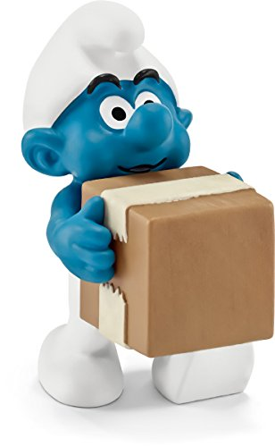 Schleich North America Logistics Smurf Toy Figure