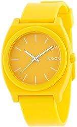 NIXON TIME TELLER P: MATTE YELLOW NA1191230-00