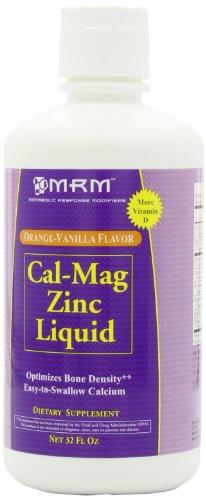 MRM Cal-mag-zinc liquide, Orange-Vanille, 32