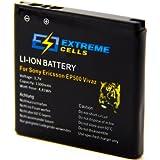 Extremecells® Akku für Sony Ericsson Live mit Walkman WT19i ersetzt EP500 Accu Batterie Battery