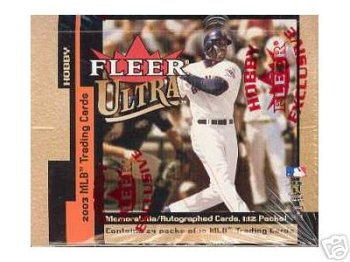 2003 Fleer Ultra Baseball Cards Hobby Box