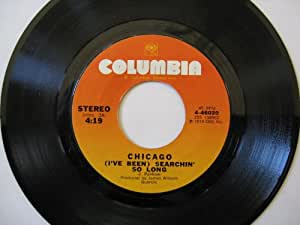 CHICAGO - (i've been) searchin' so long / byblos 45 rpm