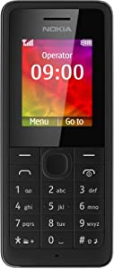 Nokia 106 Sim Free Mobile Phone - Black