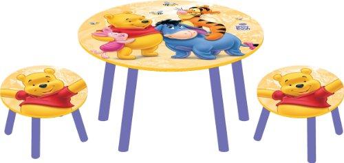 Tavolino Disney Legno.Cieska Online Disney Winnie The Pooh Set Tavolo E 2