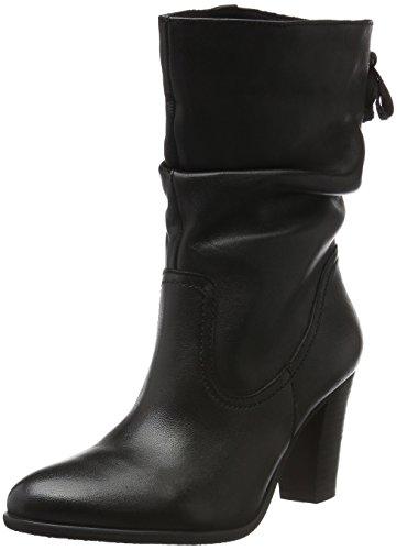SPMCalvin 3/4 Boot - Stivali a metà polpaccio con imbottitura leggera Donna , Nero (Nero (nero)), 40 EU