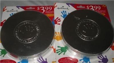 Hallmark Handprint Tin a Memory to Treasure - 1