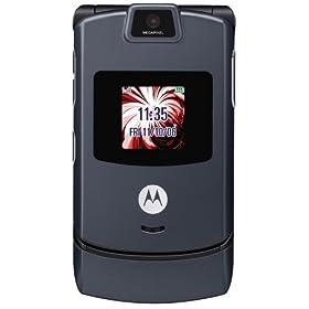 Motorola RAZR V3 Pearl Gray Phone (T-Mobile)