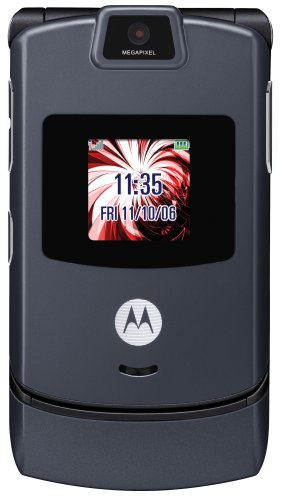 Motorola RAZR V3 Pearl Gray Phone (T-Mobile)