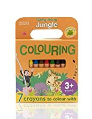 Jungle Colouring & Sticker Book