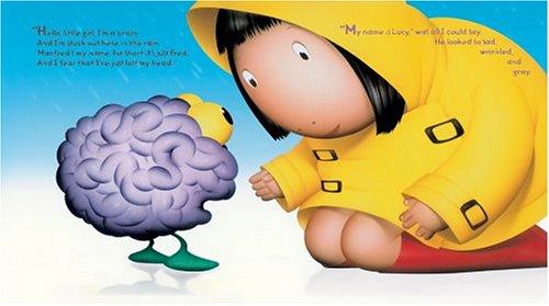 女の子と離している脳
