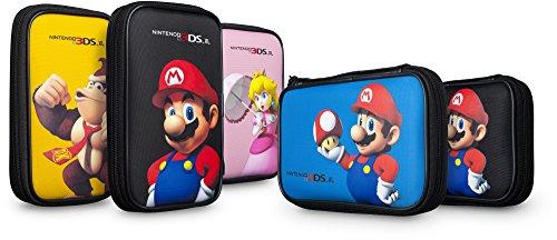 Nintendo 3DS XL - Mario Borsetta Ufficiale, Compatibile con DS XL/DSI/DSI Lite, Modelli assortiti