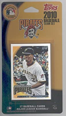 2010 Topps Pittsburgh Pirates Limited Edition 17 Card Team Set with pack of 25 TopLoad Card Holders - Set Includes Andrew McCutchen, Ryan Doumit, Gerrett jones, Neil Walker, Bobby Crosby, Zach Duke & more!