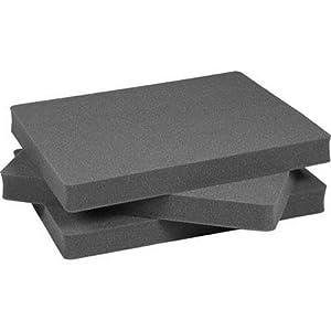 Pelican 1701 Replacement Foam Set for 1700 Case (3-Piece)
