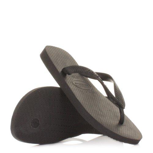 Unisex Havaianas Top Black Flip Flops Sandals SIZE 3-4-12-13