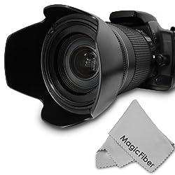 HB-32 Dedicated Altura Photo Lens Hood for Nikon 18-140mm f/3.5-5.6G ED VR, 18-135mm f/3.5-5.6G IF-ED, 18-105mm f/3.5-5.6G ED VR, 18-70mm f/3.5-4.5G IF-ED Nikkor DX Lenses (Nikon HB-32 Replacement)