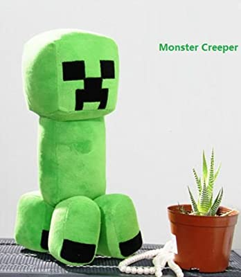 Minecraft Creeper Jj Monster Plush 7 from A-factory