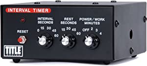 TITLE Boxing Interval Timer