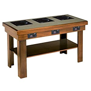 Vollrath 755228 induction buffet table 3 - Table induction 3 feux ...