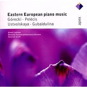 Gubaidulina, Ustvolskaya, G�recki & Pel�cis : Piano Concertos - Apex