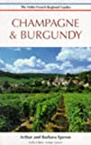 img - for Champagne and Burgundy (Helm French Regional Guides) book / textbook / text book