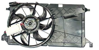 TYC 621270 Mazda Mazda3 Replacement Radiator/Condenser Cooling Fan Assembly (Fan Mazda 3 compare prices)