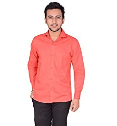 Men's Shirt Red Slim Fit