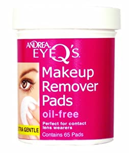 Andrea Eye Makeup Remover Pads: Oil Free