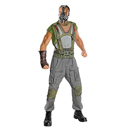 Rubies Costume Co R880670-M Mens Batman DLX Bane Adult Costume MEDIUM