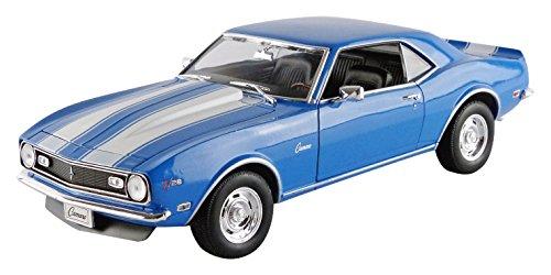 welly-12553bl-chevrolet-camaro-z28-1968-echelle-1-18-bleu