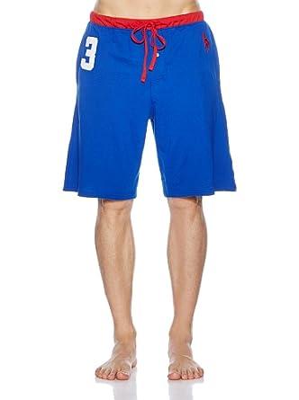 Polo Ralph Lauren - Bleu Pyjama Shorts - Homme - Taille: XL