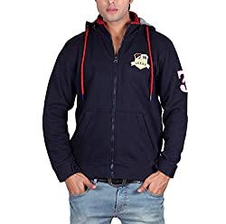 Leegs Mens Sweatshirt (3024_Navy_X-Large)