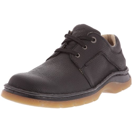 Dr. Martens DR. MARTENS ZACK 3 EYE SHOE DK.BROWN 11194201, Mocassini, Uomo, Nero
