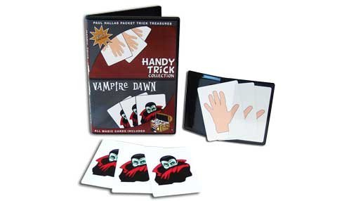 Paul Hallas Packet Trick Treasures: Handy Trick Collection & Vampire Dawn Packet Tricks with Teaching DVD - 1