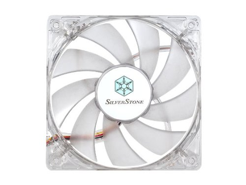 Silverstone Tek 120mm High Airflow and Less Noise with 9-Bladed Design Computer Case Fan with Red LED Cooling, Red FN121-P-RL (Fan Blade Less compare prices)
