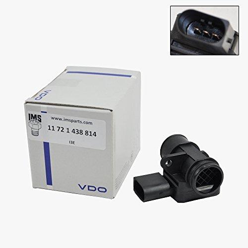 BMW Smog Mass Air Flow Sensor Secondary Siemens VDO OEM 11721438814 (2004 Bmw X5 Mass Air Flow Sensor compare prices)