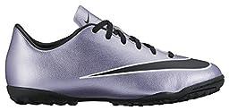 Nike Youth Mercurial Victory V Turf Shoes [URBAN LILAC/BRIGHT MANGO/BLACK] (10.5C)