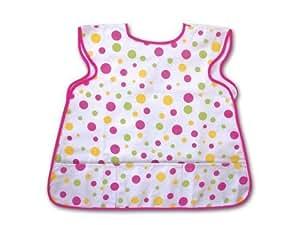Good Baby! Designs Children's Smock Pink Polka dot $11.95