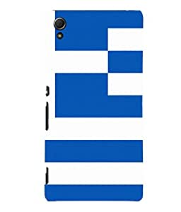 printtech Lines Pattern Abstract Back Case Cover for Sony Xperia Z4::Sony Xperia Z4 E6553